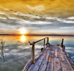 El lago de los sueños . HDR © kesipun