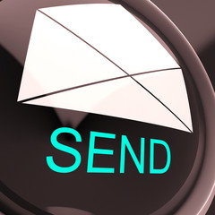 Send Envelope Means Email Or Post To Recipient