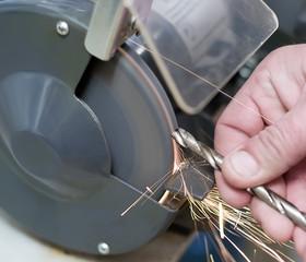 Sharpening drill