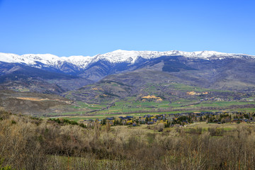Catalan Pyrenees valley