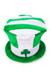 Saint Patrick holiday concept with green hat