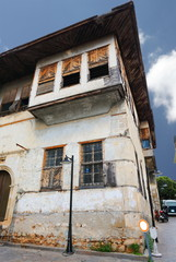 Wooden house in old Antalya.