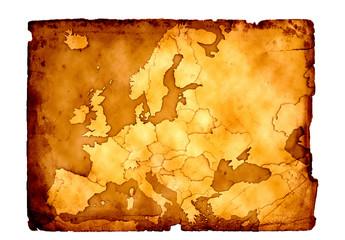 Europa Schatzkarte 3D