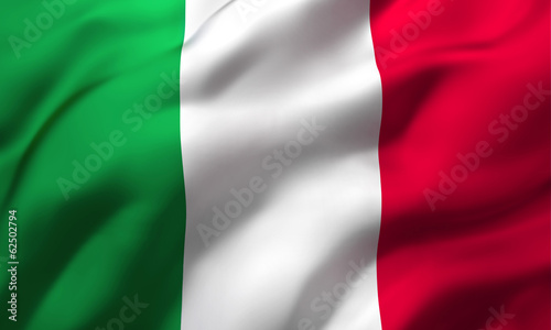 Foto op Canvas Centraal Europa flag of Italy