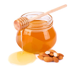 Sweet honey almonds