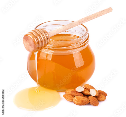 Sweet honey almonds