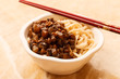 noodle with meat
