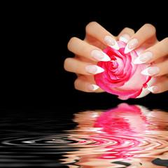 Gepflegte Fingernägel