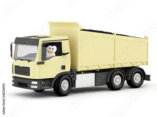 Penguin Coal Delivery Driver