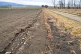 Erosion, destruction soil environment poster
