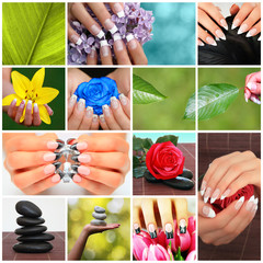 Nageldesign Postkarte