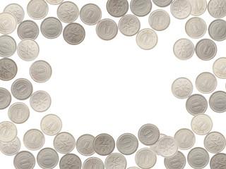 1円のフレーム