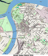 Belgrade Serbia East Europe city hi res aerial view map