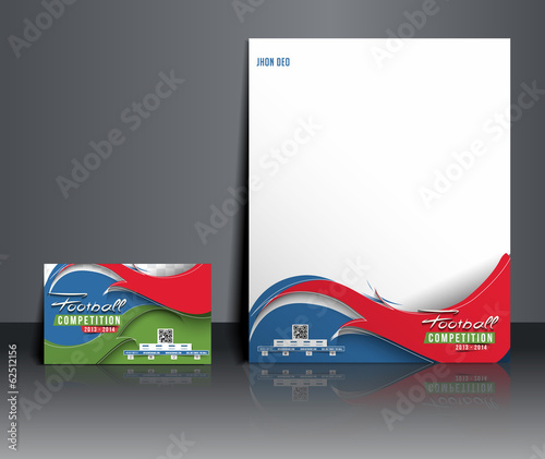 Football Competition Corporate Identity Template