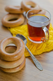 bagels and tea