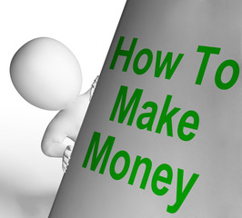 How To Make Money Sign Means Riches And Wealth