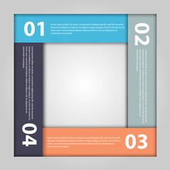 Modern infographic. Design elements.