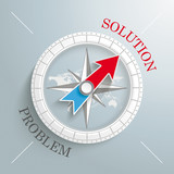 Compass Silver Background Solution Problem