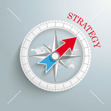 Compass Strategy Silver Background