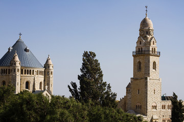 Abbey of the Dormition  - Jerusalem