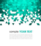 Fototapety Abstract technology background  with triangle
