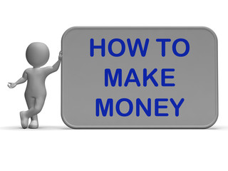 How To Make Money Sign Means Prosper And Generate Income
