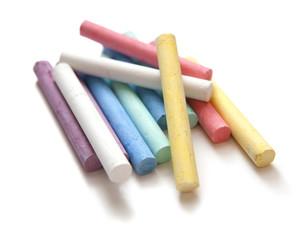 craies tableau colorées