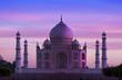 Leinwanddruck Bild - Taj Mahal ,Agra, India