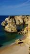 Algarve Strand Marinha vid 11 vertik