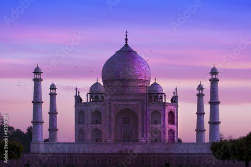 Leinwanddruck Bild Taj Mahal ,Agra, India