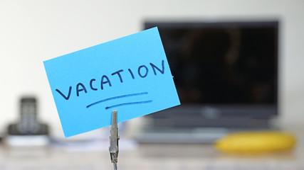 Vacation memo