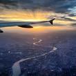 London bei Sonnenaufgang