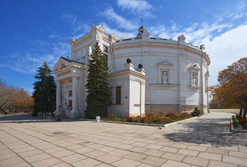 "museum ""Panorama"" in Sevastopol. Crimea."