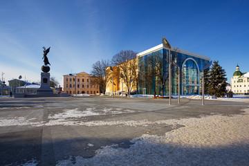 square in Kharkov. Ukraine.