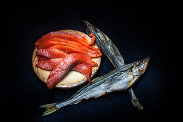 Salmon and smelt