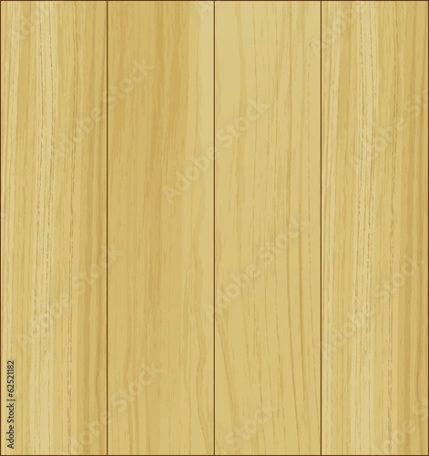 Empty wooden template