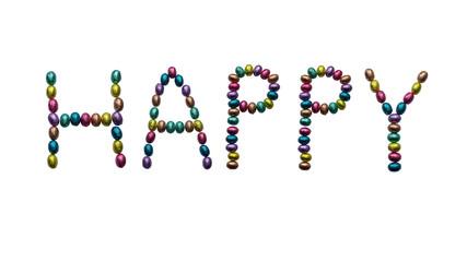 Buntes Happy