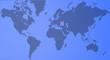 Planisfero cartina Crimea e Ucraina, mondo