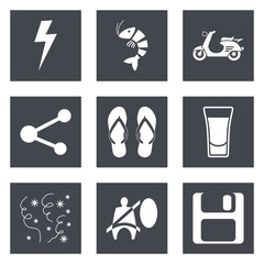 Icons for Web Design set 27