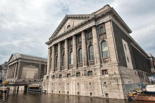 Staande foto Berlijn Facade of the Pergammonmuseum in Berlin. The Pergammon Museum ho