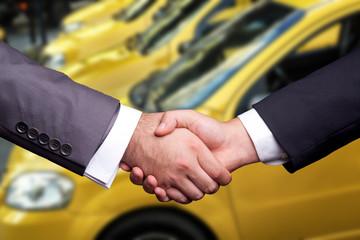 Taxi Handshake
