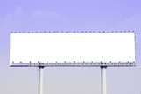 Blank billboard . Useful for your advertisement.