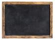 Leinwanddruck Bild - Vintage blackboard or school slate