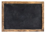 Vintage blackboard or school slate poster