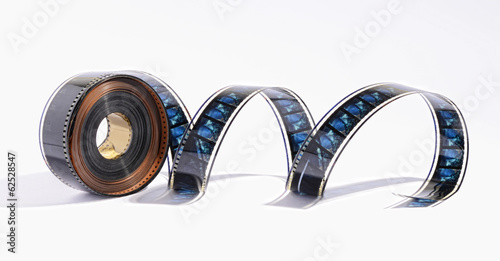 Coil of movie film