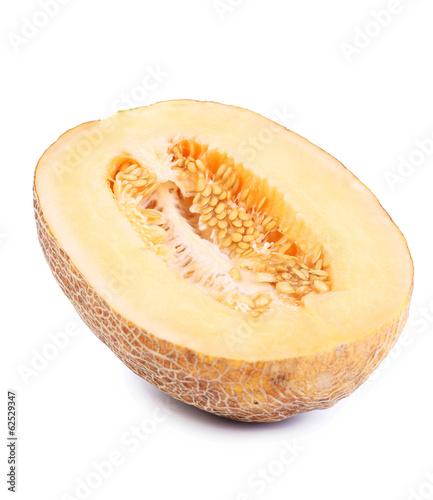 One half of melon.