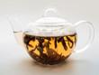 Tee aufgiessen