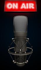 Microfono a condensatore on air