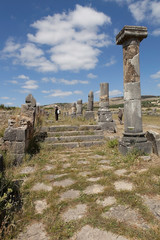 Руины древнеримского города Волюбилиса. Марокко.