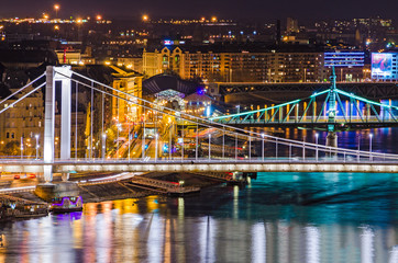 Budapest, Elisabeth and Liberty bridges